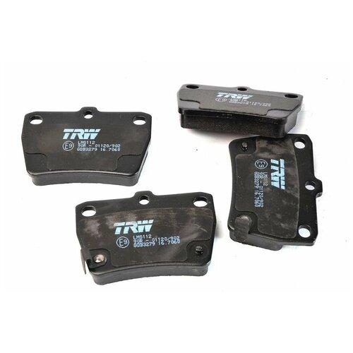 Дисковые тормозные колодки задние TRW GDB3279 для Chery Tiggo, Chery Tiggo 3, Chery J11, Toyota RAV4 (4 шт.)