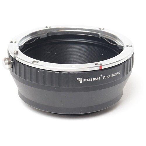 Фото - Fujimi FJAR-EOSFX Адаптер EOS на камеры с байонетом FUJI X кольцо fujimi adapter canon eos m42 fjar 42eos 478