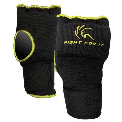 Гелевые перчатки Kango KSH-067 Black/Yellow M