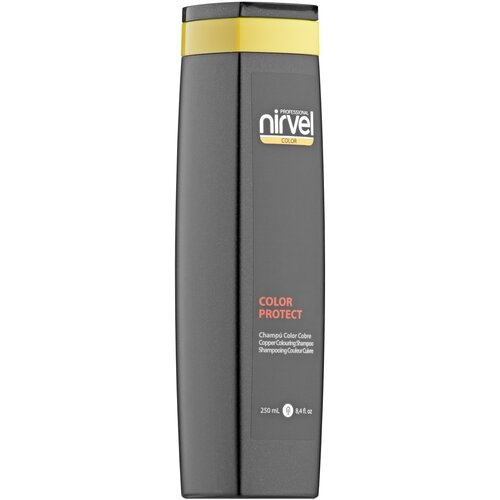 Фото - Nirvel шампунь Color Protect Copper Colouring оттеночный медный, 250 мл оттеночный шампунь для поддержания цвета color protect shampoo 250мл copper
