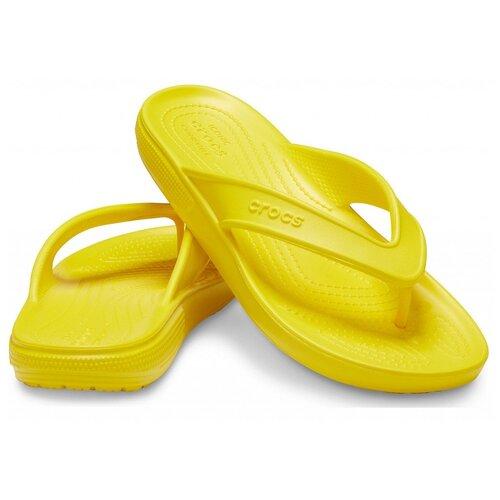 Шлепанцы Crocs, размер 36(W6), желтый