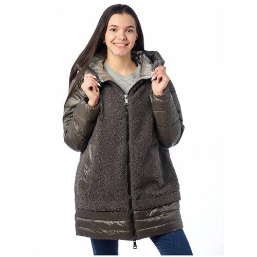 Куртка женская EVACANA 21404 (Серый 38/54)