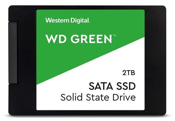 Твердотельный накопитель Western Digital WD Green SATA 2000 GB WDS200T2G0A — купить по выгодной цене на Яндекс.Маркете