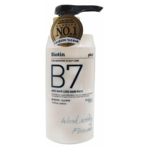 Купить Forest Story Маска против выпадения волос с биотином B7 Anti-Hair Loss Hair Pack 500 мл