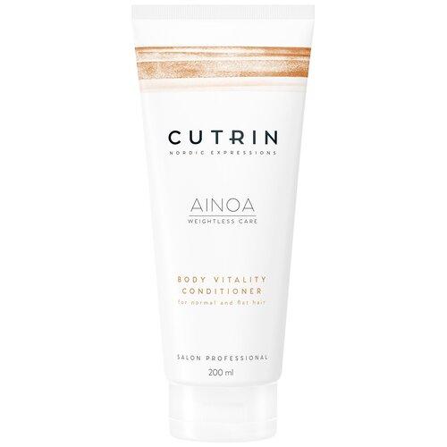 Купить Cutrin кондиционер для волос AINOA Body Vitality для укрепления, 200 мл
