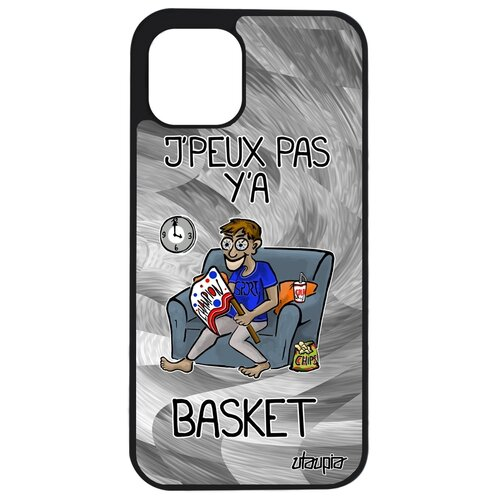 """Чехол для смартфона iPhone 12 pro, """"Не могу - смотрю баскетбол!"""" Болельщик Юмор"""