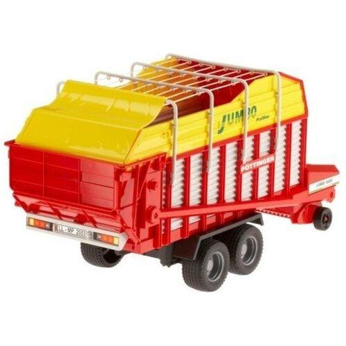 Прицеп Bruder Автопогрузчик кормов Pоttinger Jumbo 6600 Profiline (02-214) 1:16, 54.6 см, красный