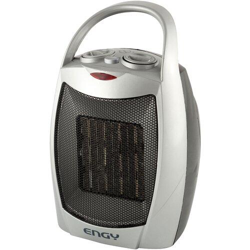 Тепловентилятор Engy PTC-308B серебристый/черный экран avs sh 308b универсальные серебристый 1 шт