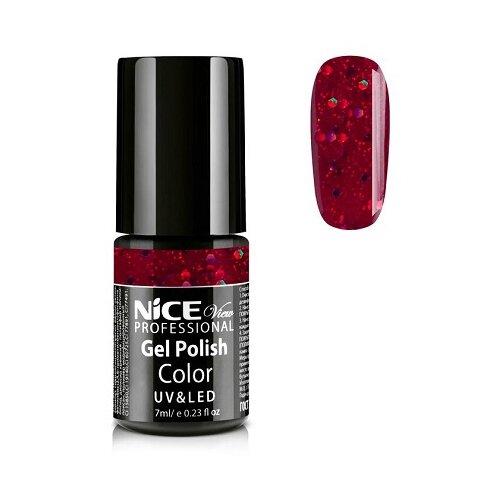 Купить Гель-лак для ногтей Nice View UV&LED, 7 мл, GL-108