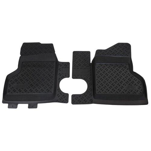Ковры салонные модельные (передние) Aileron для ГАЗ Газель Бизнес 2-й рестайлинг [2010-...] (2705, 3302 (в т.ч. 4X4),