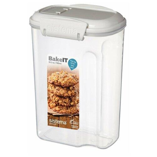 Фото - Sistema Контейнер BAKE-IT 1203, 8.7x12 см, прозрачный sistema контейнер с чашкой bake it 1250 13x17 5 см прозрачный