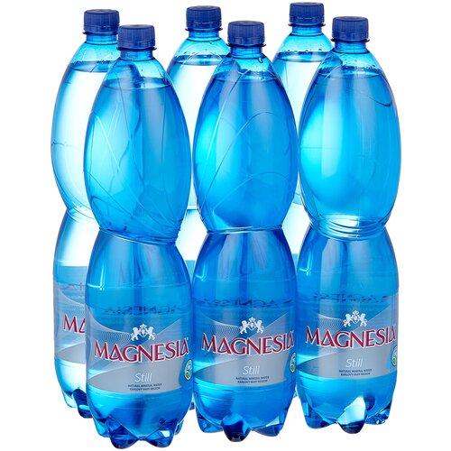 Минеральная вода Magnesia негазированная, ПЭТ, 6 шт. по 1.5 л