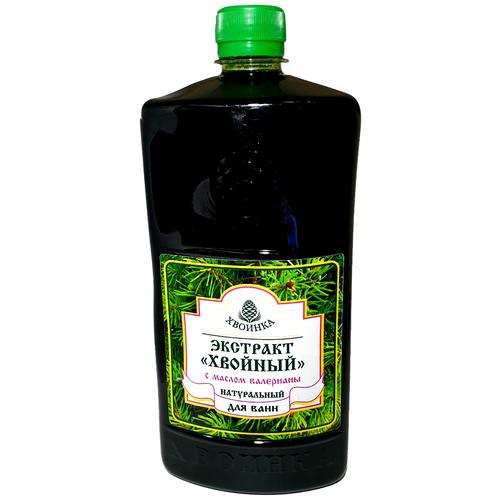 Хвоинка Экстракт Хвойный с маслом валерианы, 1 л