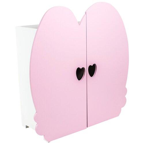 PAREMO Шкаф для кукол (PFD120) розовый