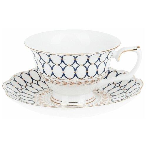 """Best Home Porcelain Чайная пара """"Olympia"""" 220 мл (подарочная упаковка)"""