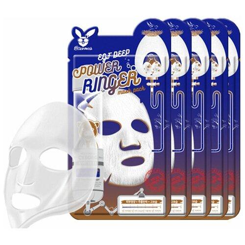 Elizavecca Тканевая маска EGF Deep Power Ringer Mask Pack, 23 мл, 5 уп. недорого