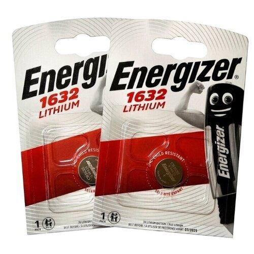 Фото - Батарейка Energizer CR1632, 1 шт., 5 уп. батарейка energizer max plus aa 4 шт