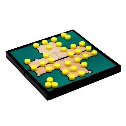 Головоломка Origami Солитер (5323) зеленый/желтый