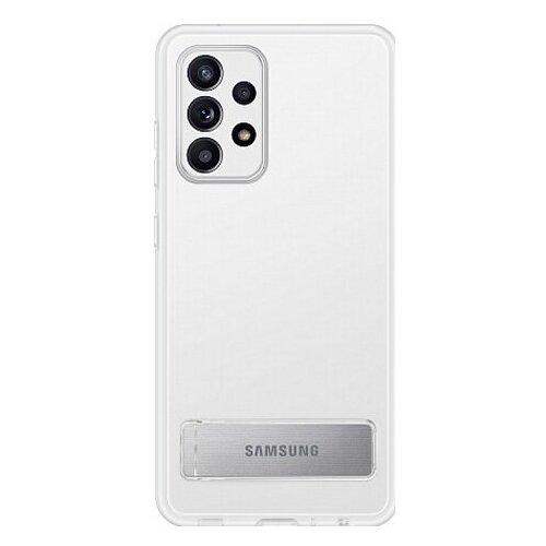 Чехол-накладка Samsung Clear Standing Cover A72 прозрачный