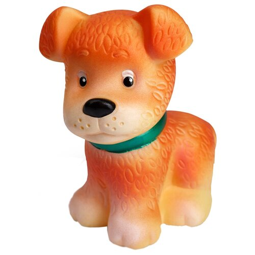 Фото - Игрушка для ванной ОГОНЁК Щенок Малыш (С-351) оранжевый игрушка для ванной огонёк лев бонифаций с 644 оранжевый