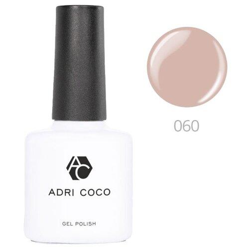 Гель-лак для ногтей ADRICOCO Gel Polish, 8 мл, 060 сливочно-кофейный гель лак для ногтей in garden x gel 8 мл 63 кофейный