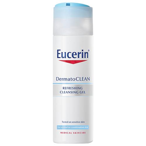 Eucerin освежающий и очищающий гель для умывания DermatoClean, 200 мл недорого
