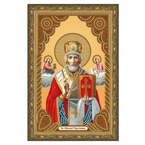 Купить Алмазная живопись иконы Color Kit Святой Николай Чудотворец 20х30, Алмазная вышивка