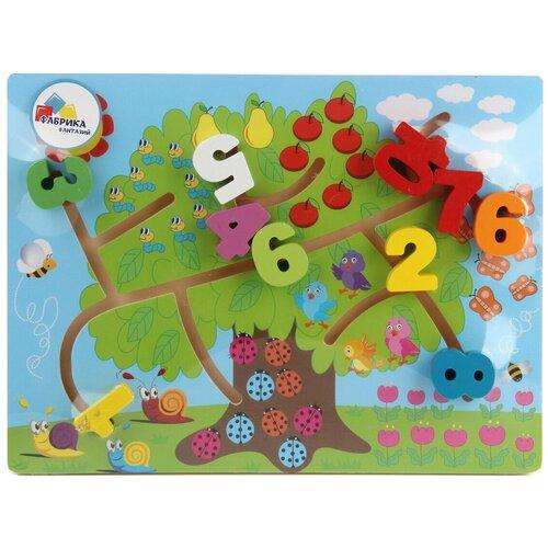 Деревянная игрушка Рамка-лабиринт Фабрика Фантазий 103737