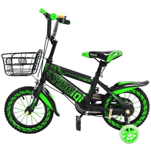 детский велосипед yibeigi v 14 синий Детский велосипед Yibeigi V-14 зеленый