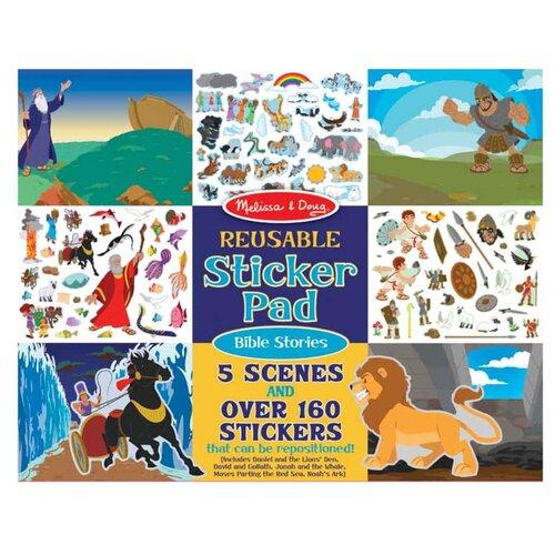 Купить Творчество Набор стикеров с фоном, Библейские истории Melissa Doug 9124, Melissa & Doug, Наклейки