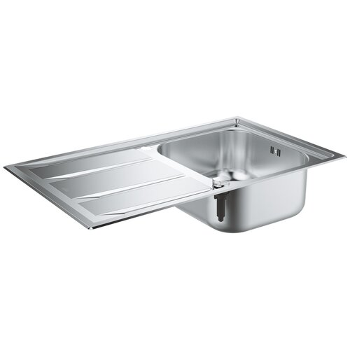 Врезная кухонная мойка 87.3 см Grohe K400+ 31568SD0 нержавеющая сталь врезная кухонная мойка 87 3 см grohe k400 31568sd0 нержавеющая сталь