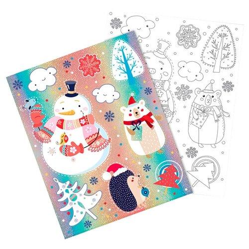 Фото - Наклейка Феникс Present Веселые животные 30 x 38 см наклейка феникс present морозный узор 54 x 21 см