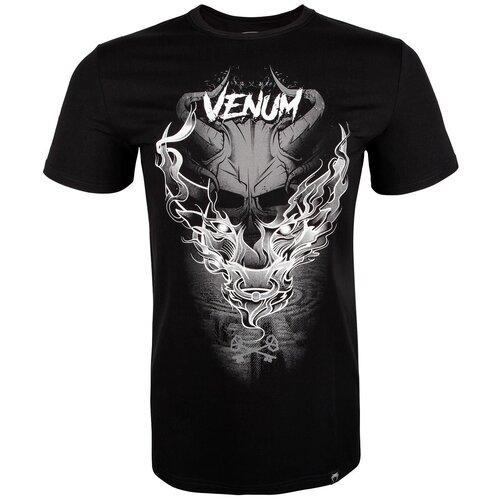 Футболка мужская VENUM MINOTAUR T-SHIRT - BLACK/WHITE цвет черный размер S футболка carhartt s s college script t shirt black white xl