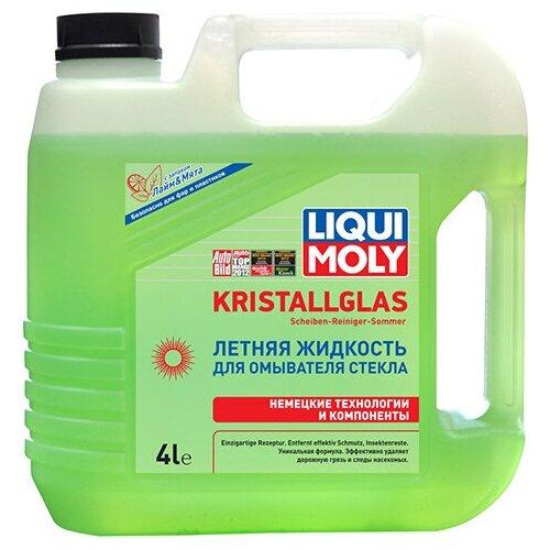 Фото - Жидкость для стеклоомывателя LIQUI MOLY Kristallglas Scheiben-Reiniger-Sommer, 0°C, 4 л жидкость для омывателя стекла liqui moly kristallglas летняя 4л 35001