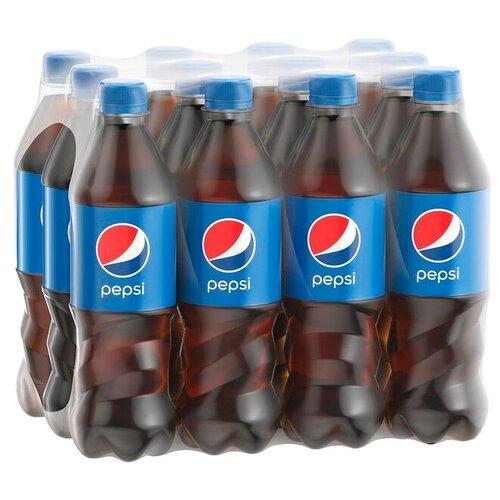 Фото - Газированный напиток Pepsi, 0.5 л, 12 шт. pepsi напиток низкокалорийный вкус манго 0 5 л pepsi