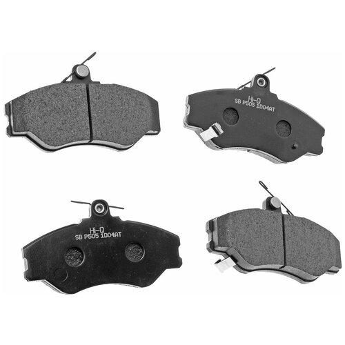 Дисковые тормозные колодки передние HYUNDAI SP1072 для Hyundai Porter, Hyundai H100, Hyundai H1, Hyundai Starex (4 шт.)