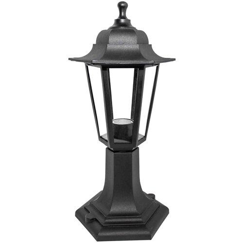 настенные часы apeyron electrics pl 01 023 черный Светильник уличный напольный APEYRON electrics 11-97, черный, 6-гранный, стекло
