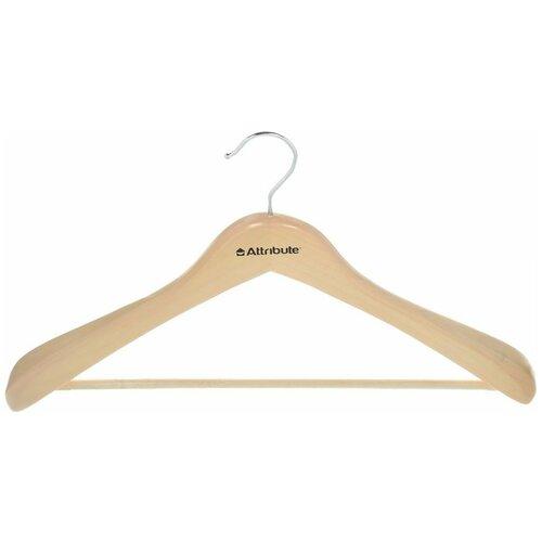 Вешалка для верхней одежды, цельная Classic, 44 см вешалка attribute eva black 45см для верхней одежды металл поролон