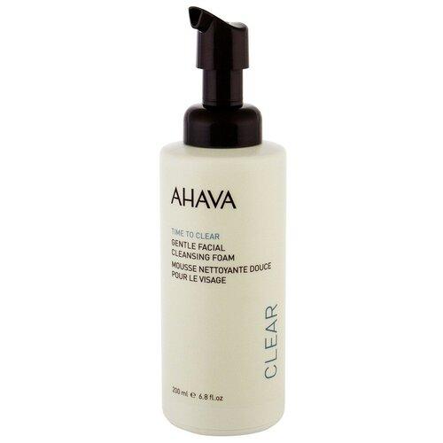 AHAVA нежная очищающая пенка для лица Time To Clear Gentle Facial Cleansing Foam, 200 мл