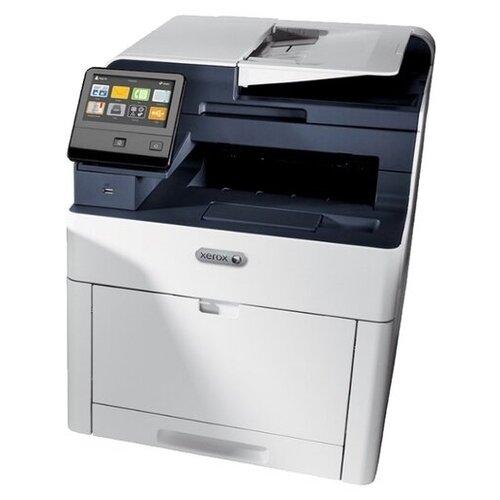 Фото - МФУ Xerox WorkCentre 6515DNI, белый/синий мфу xerox workcentre 6515n белый синий