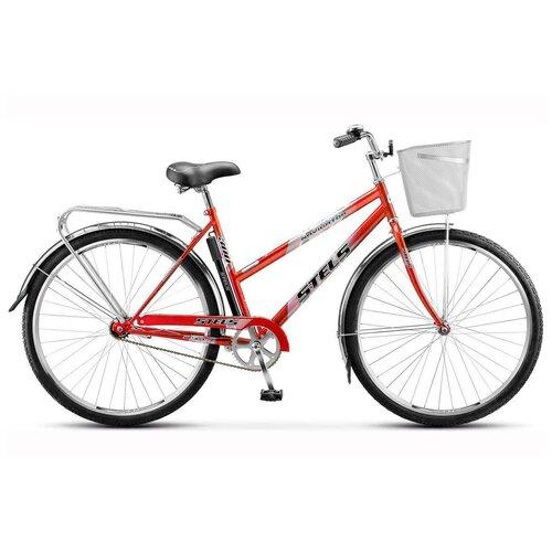 детский велосипед navigator basic вн20219 красный требует финальной сборки Городской велосипед STELS Navigator 300 Lady 28 Z010 (2021) красный 20 (требует финальной сборки)