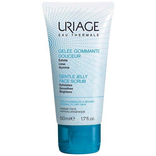 Uriage мягкий скраб для лица Gentle Jelly Face Scrub 50 мл скраб для лица erborian black scrub 50 мл
