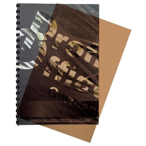 Фото - Обложка ProfiOffice A4 200 мкм глянец дымчатый прозрачный 100 шт. profioffice cutstream hq 361