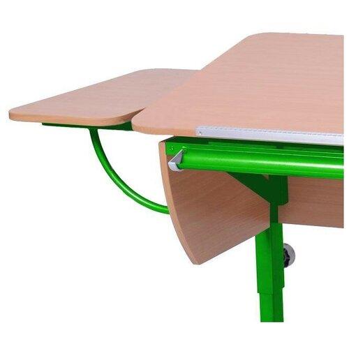 Приставка к столу Астек-Элара боковая приставка к партам бук/зеленый
