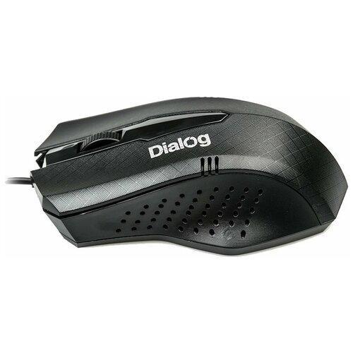 Мышь Dialog MOP-09U Black USB, черный