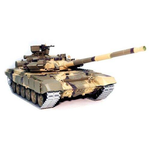 Фото - Радиоуправляемый танк Heng Long T-90 UpgradeA V6.0 2.4G 1/16 RTR, HL3938-1UA6.0 радиоуправляемый танк heng long радиоуправляемый мини танковый бой cs toys 9819