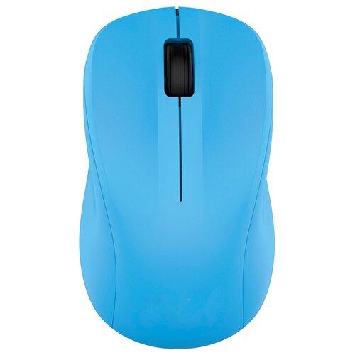 Беспроводная мышь CBR CM 410 Blue USB, голубой