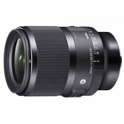 Фото - Объектив Sigma 35mm f/1.4 DG DN Art Sony E черный объектив sigma 70mm f 2 8 dg macro art sony e