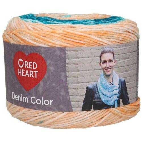 Купить Пряжа для вязания Red Heart 'Denim color' 150гр 340м (100% акрил) (00002 радость), 3 мотка
