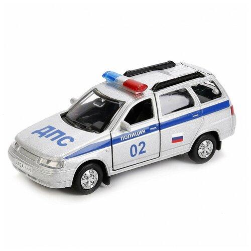Фото - Машина инерционная Технопарк Lada 111 Полиция 239654 машина технопарк chevrolet tahoe инерционная 280925